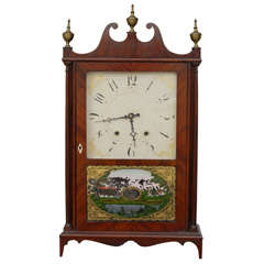 Eli Terry & Sons Pillar and Scroll Clock