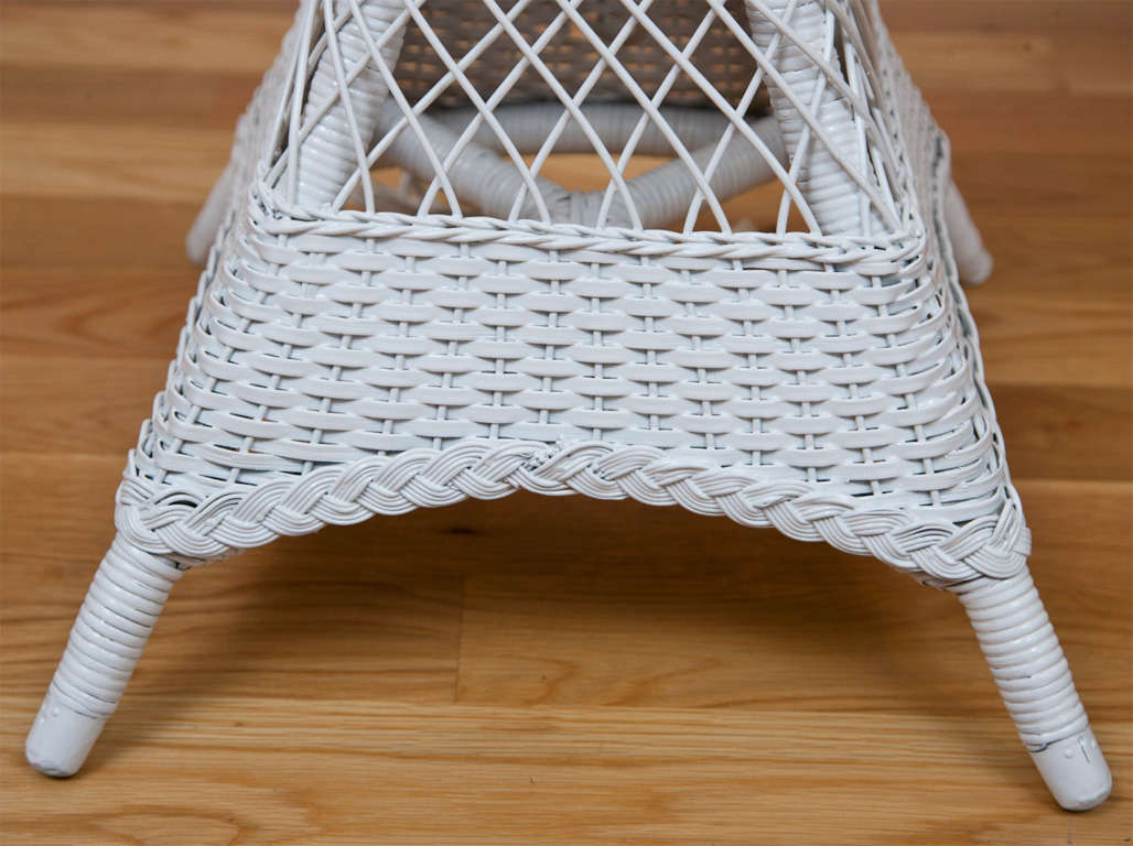 Antique wicker floor lamp for sale at 1stdibs american antique wicker floor lamp for sale aloadofball Gallery
