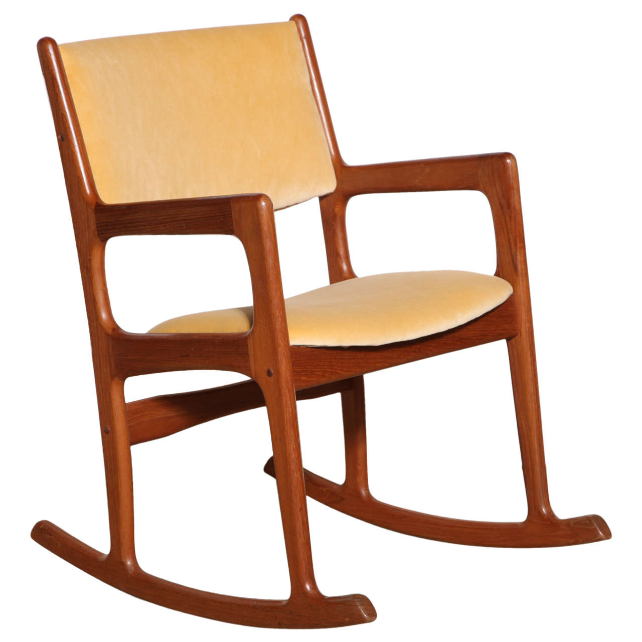 this danish modern teak rocking chair is no longer available