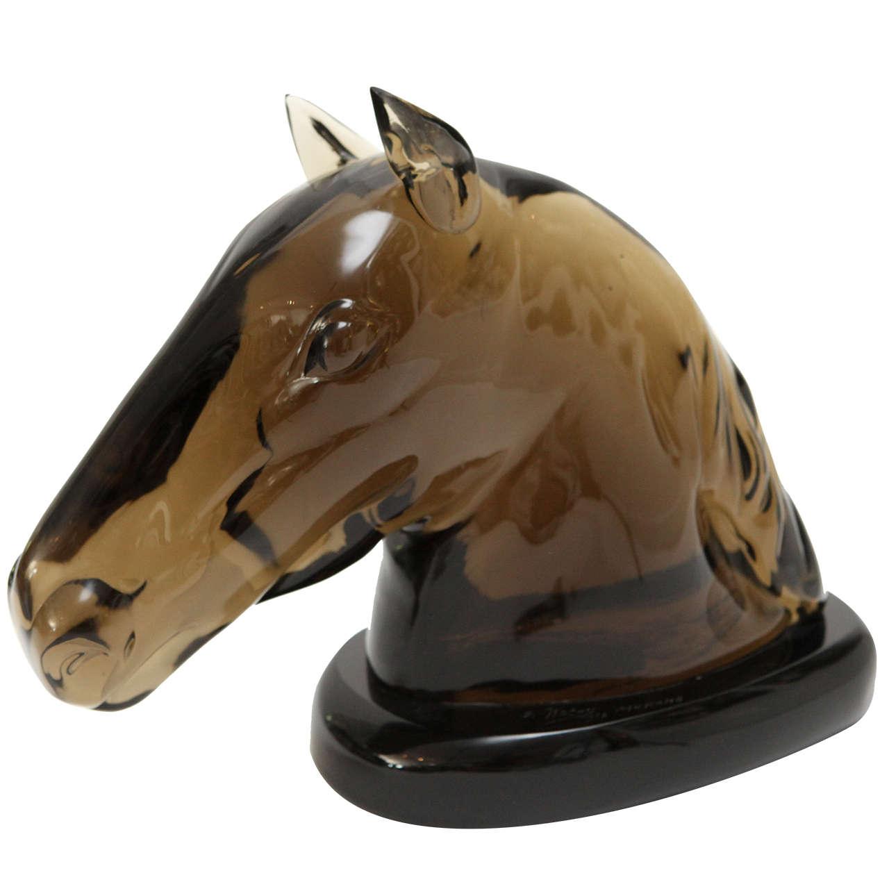 Murano Glass Sculpture by Ermanno Nason For Sale