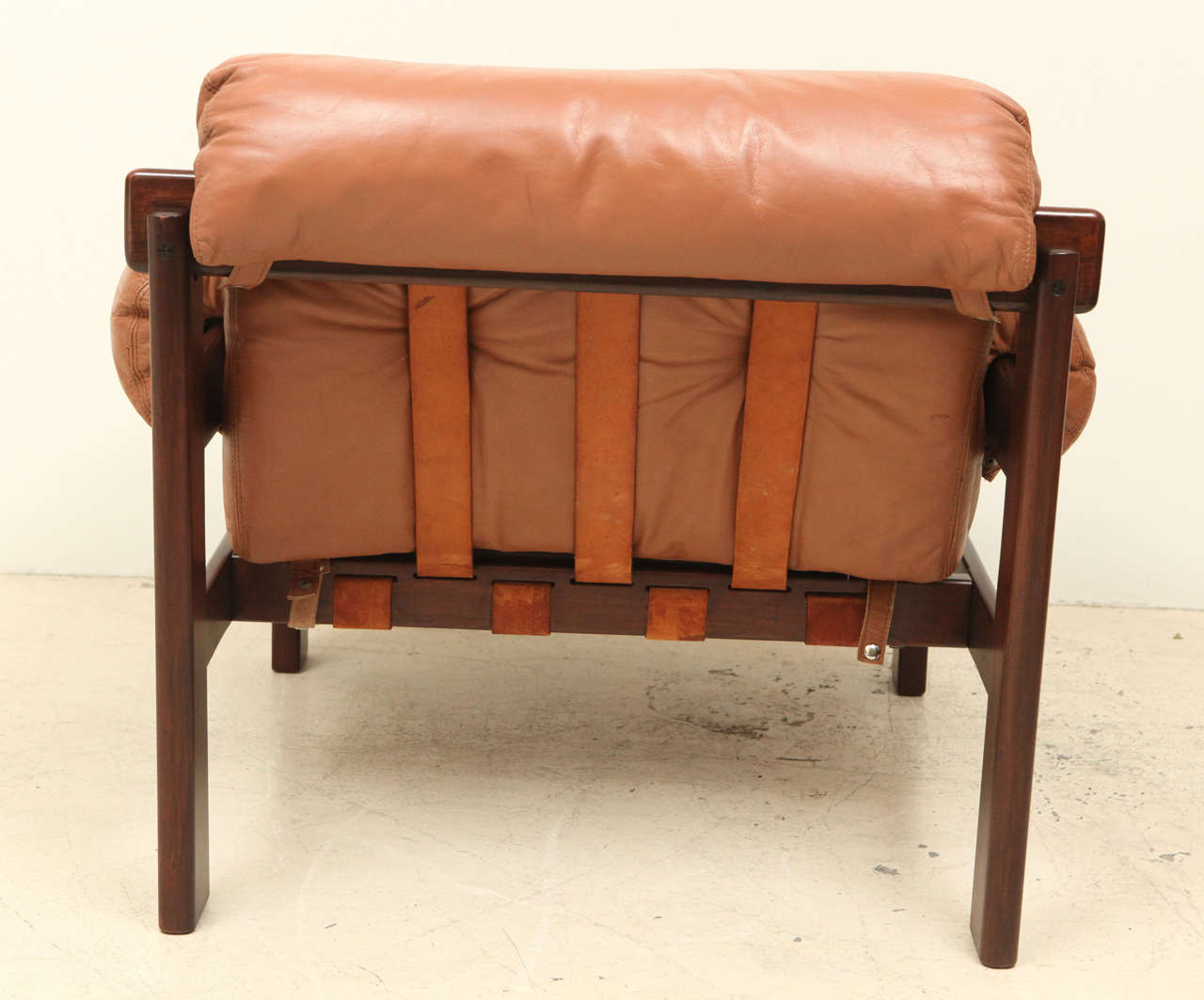 Pair of Arne Norell Leather Armchairs 3
