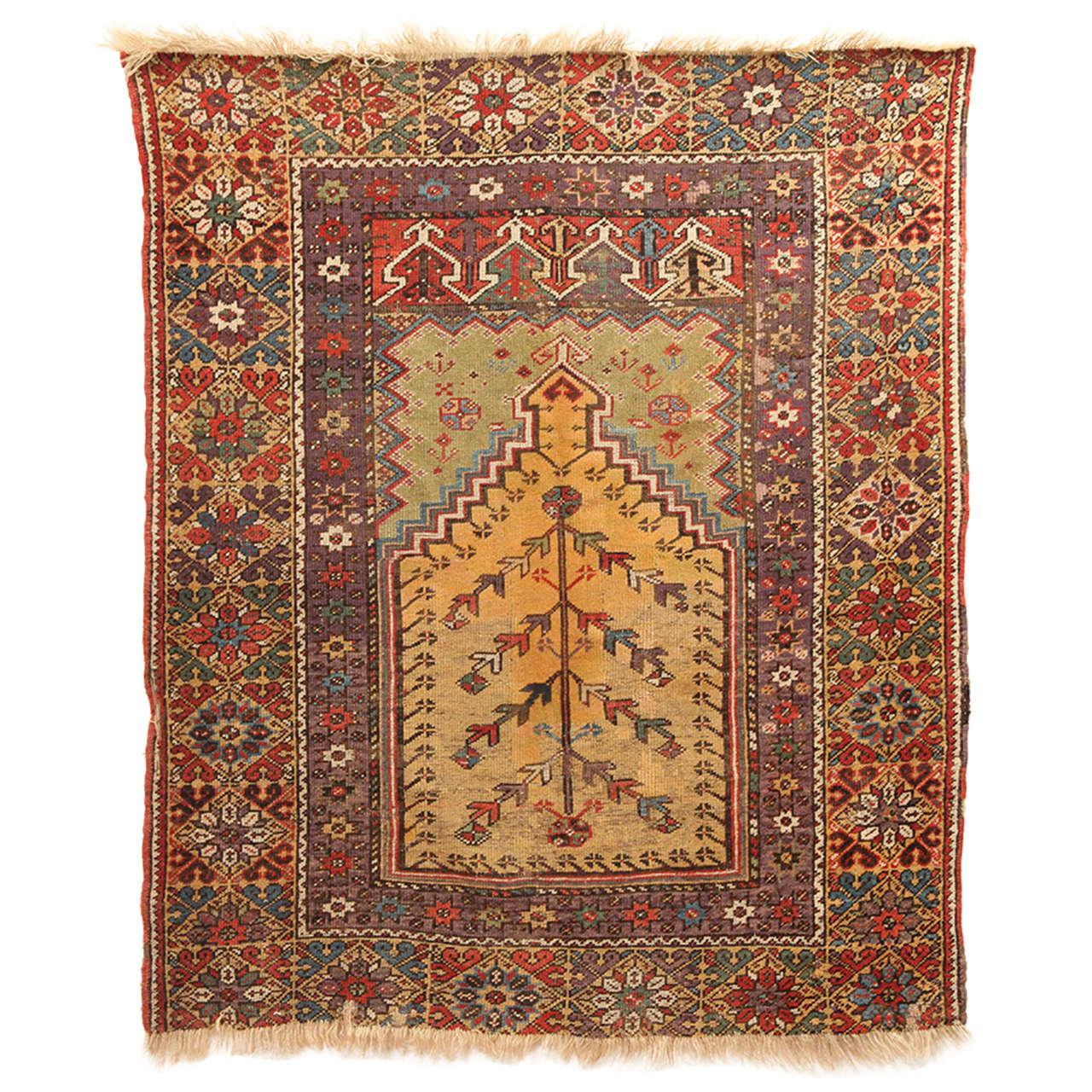Persian Rug Los Angeles: Antique Turkish Mudjar Rug At 1stdibs