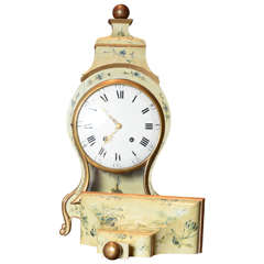 18th Century Swiss Cartel Clock, Circa 1790