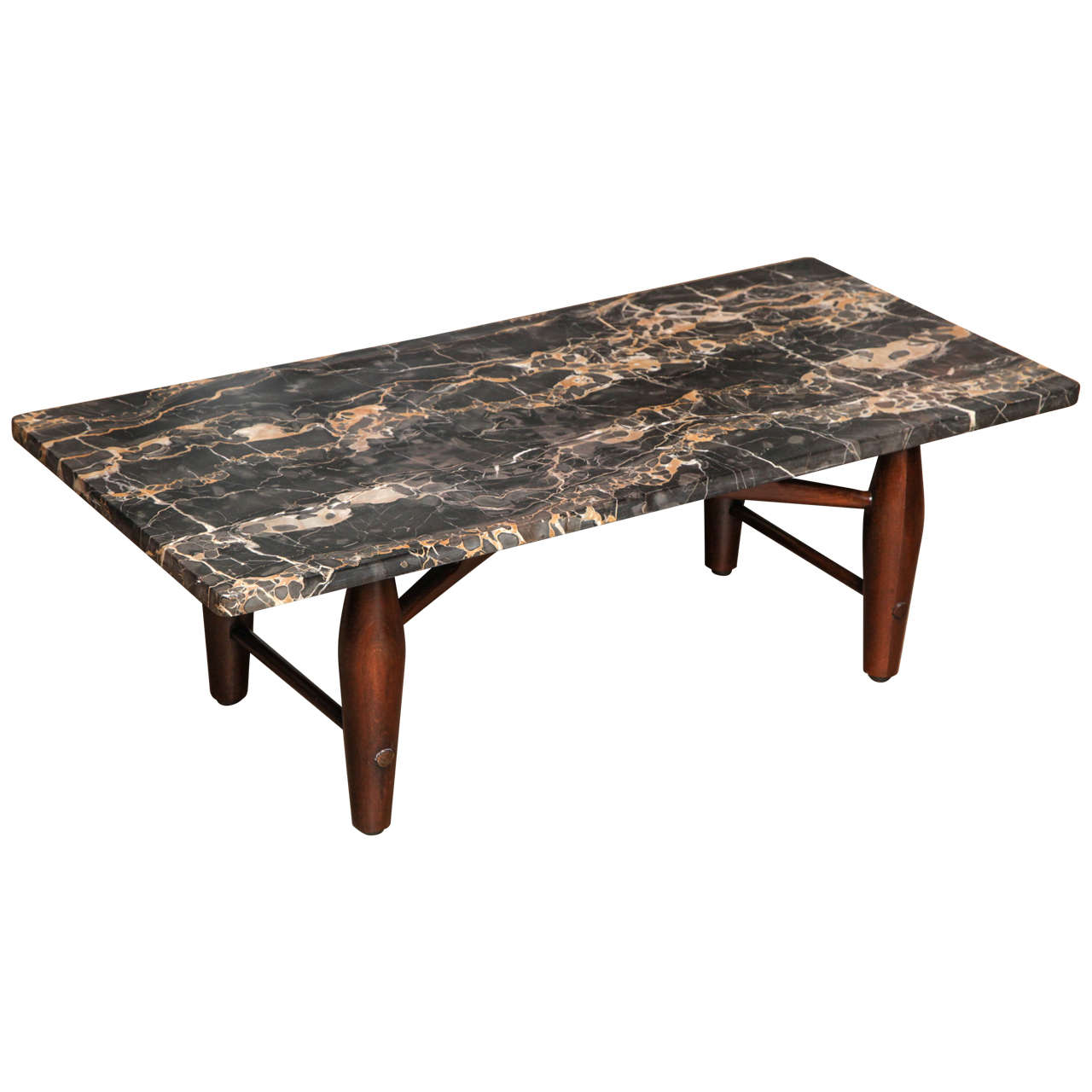 Low marble coffee table at 1stdibs Granite coffee table