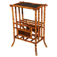 Anglo-Japanese Bamboo Side Table