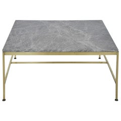 Paul McCobb Brass Coffee Table for Calvin