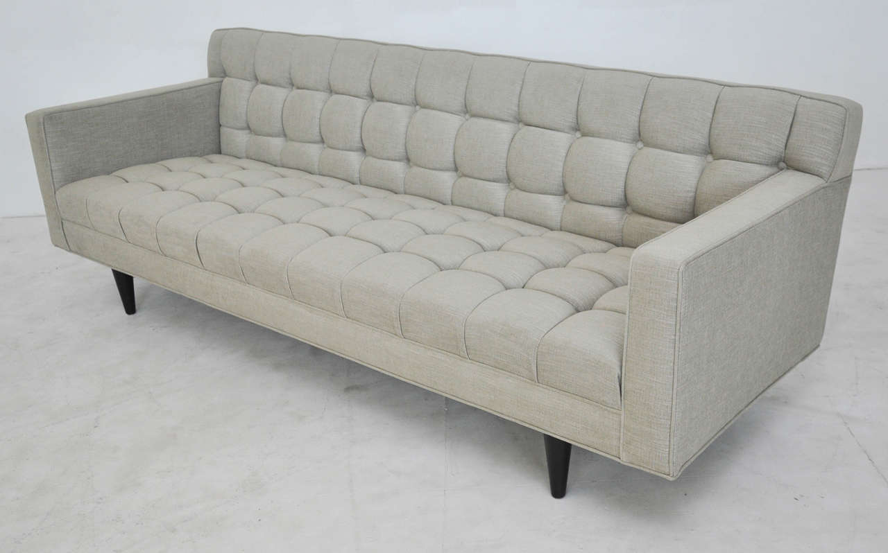 20th Century Dunbar Model 5136 Sofa by Edward Wormley For Sale