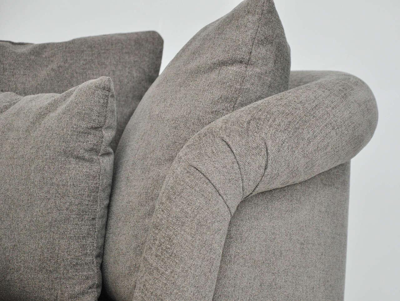 Pair of Large Milo Baughman Swivel Chairs 5