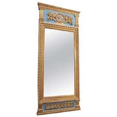 18th Century Swedish Trumeau Mirror