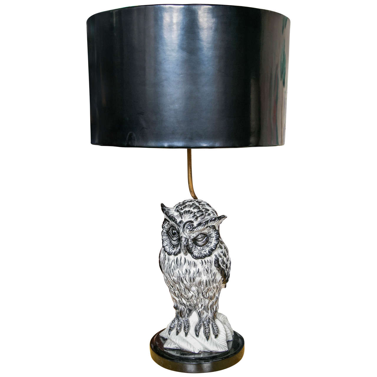 Owl Lamp At 1stdibs