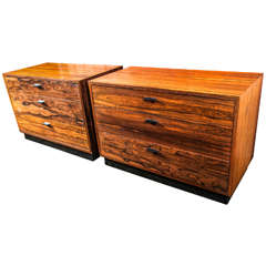 Pair of Probber Side Tables or Chests
