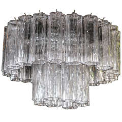 Murano Glass Tronchi Chandelier by Venini