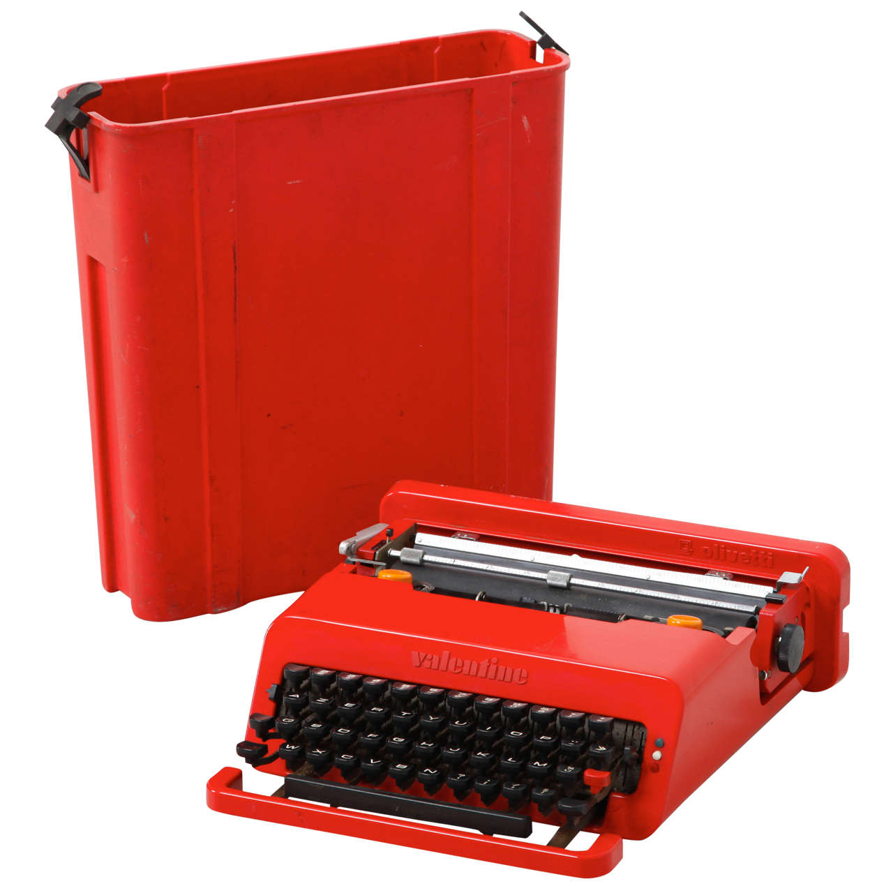 Olivetti Valentine Typewriter Designed By Ettore Sottsass U0026 Perry King.