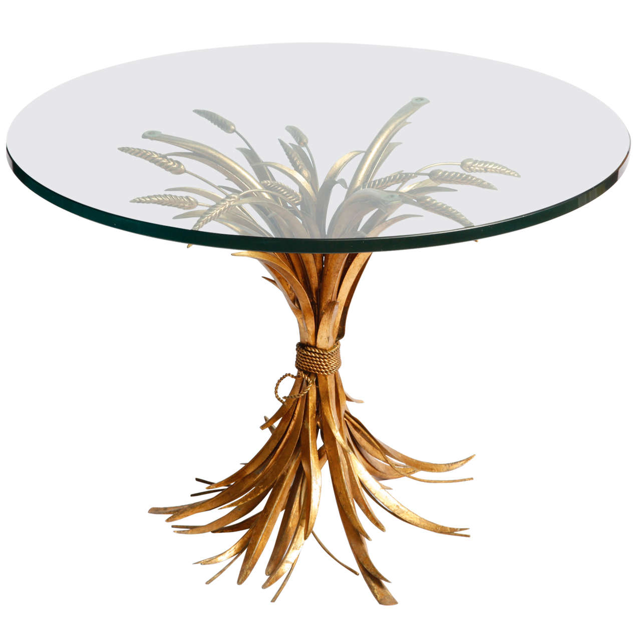 Wheat Table From Coco Chanel At 1stdibs