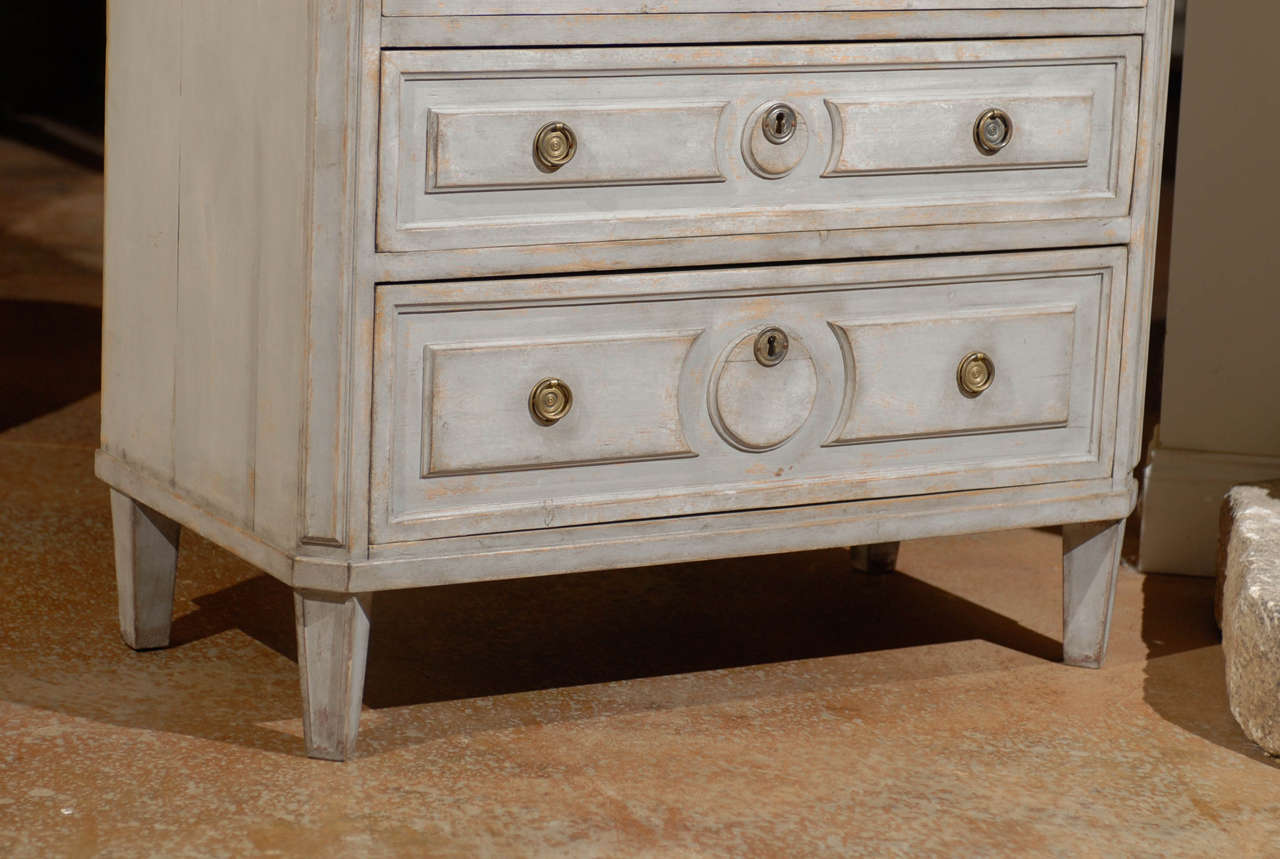 Painted Swedish Commode 4