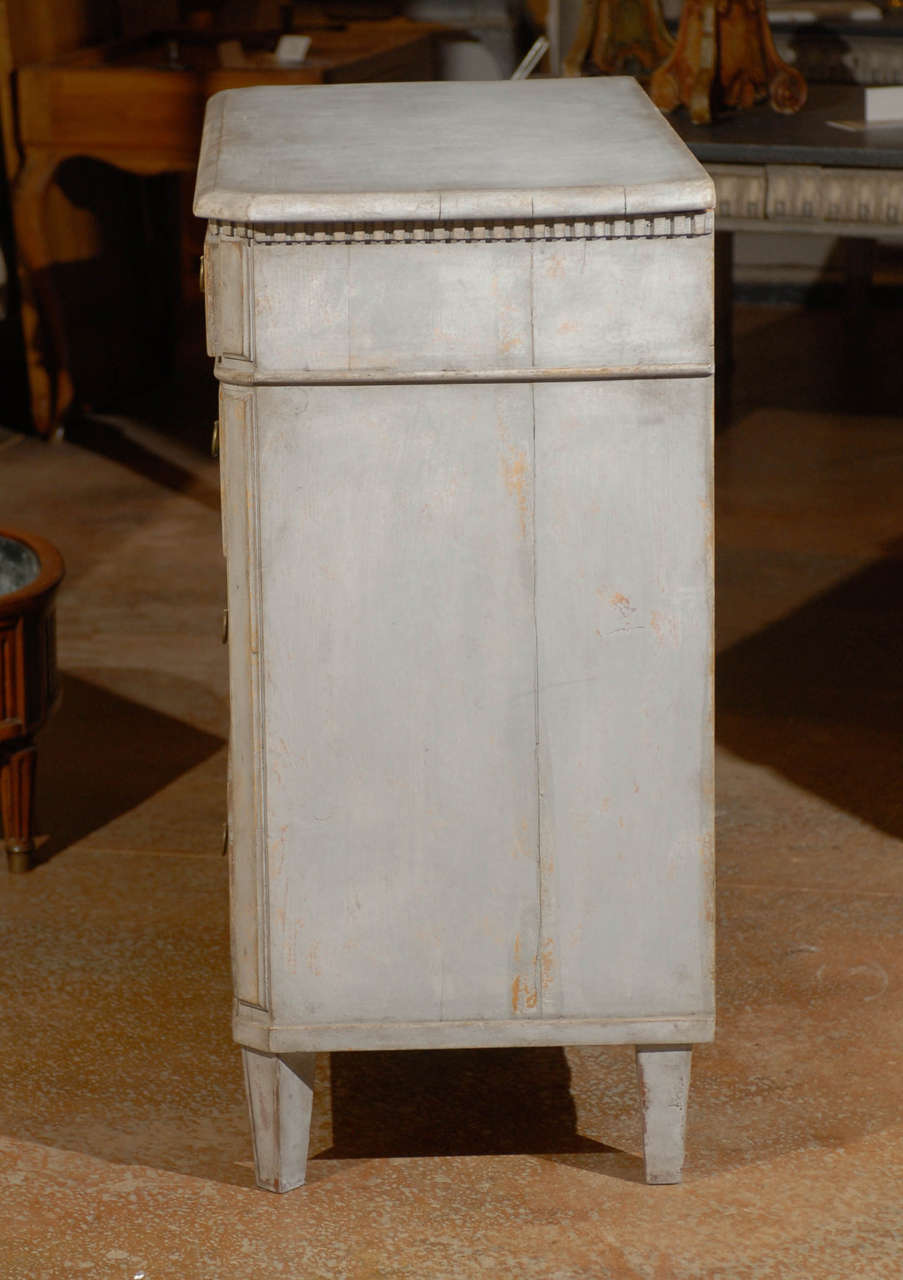 Painted Swedish Commode 7