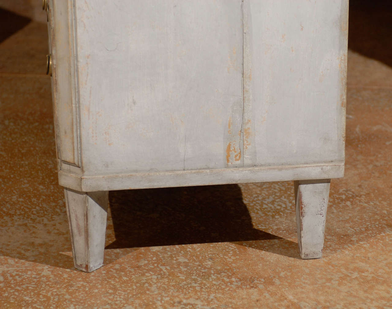 Painted Swedish Commode 8
