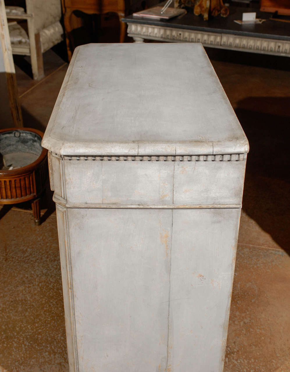 Painted Swedish Commode 9