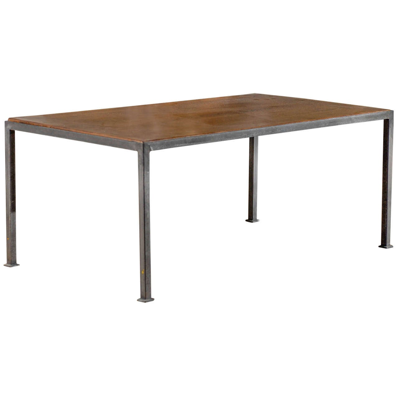 Iron Base Coffee Table At 1stdibs