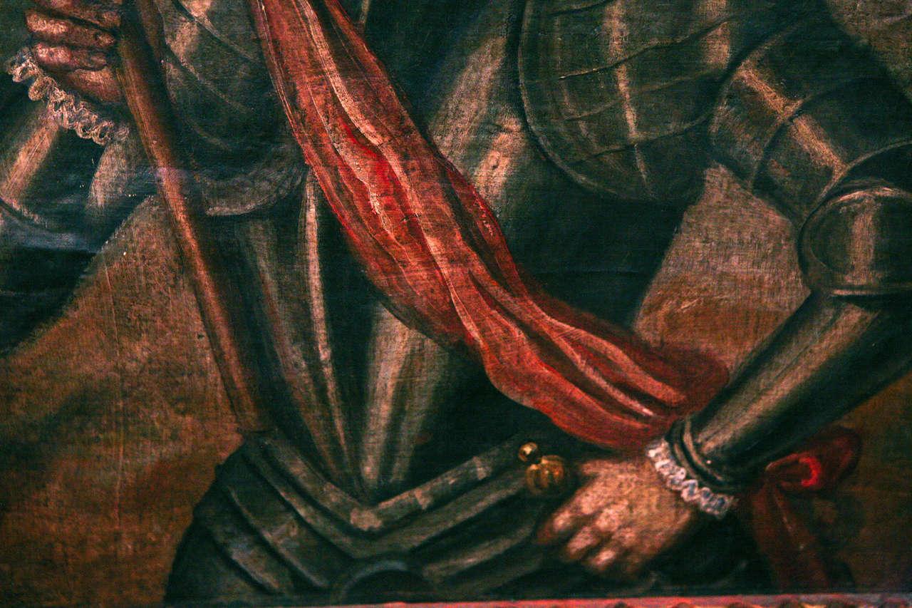 18th Century Peruvian Conquistador Painting image 8