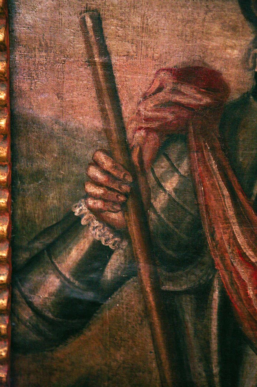 18th Century Peruvian Conquistador Painting image 10