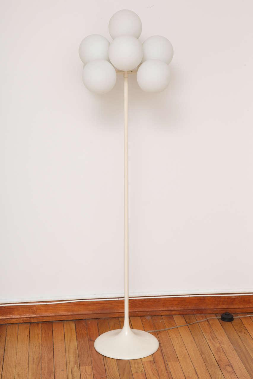 max bill floor lamp for sale at 1stdibs. Black Bedroom Furniture Sets. Home Design Ideas