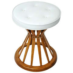 "Dunbar ""Sheaf of Wheat"" Stool by Edward Wormley"