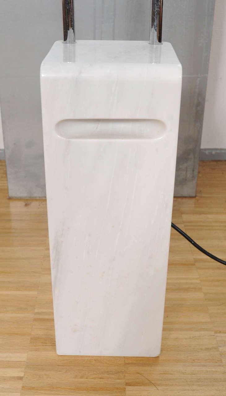 Italian Floor Lamp Gesto Terra by Bruno Gecchelin for Skipper For Sale