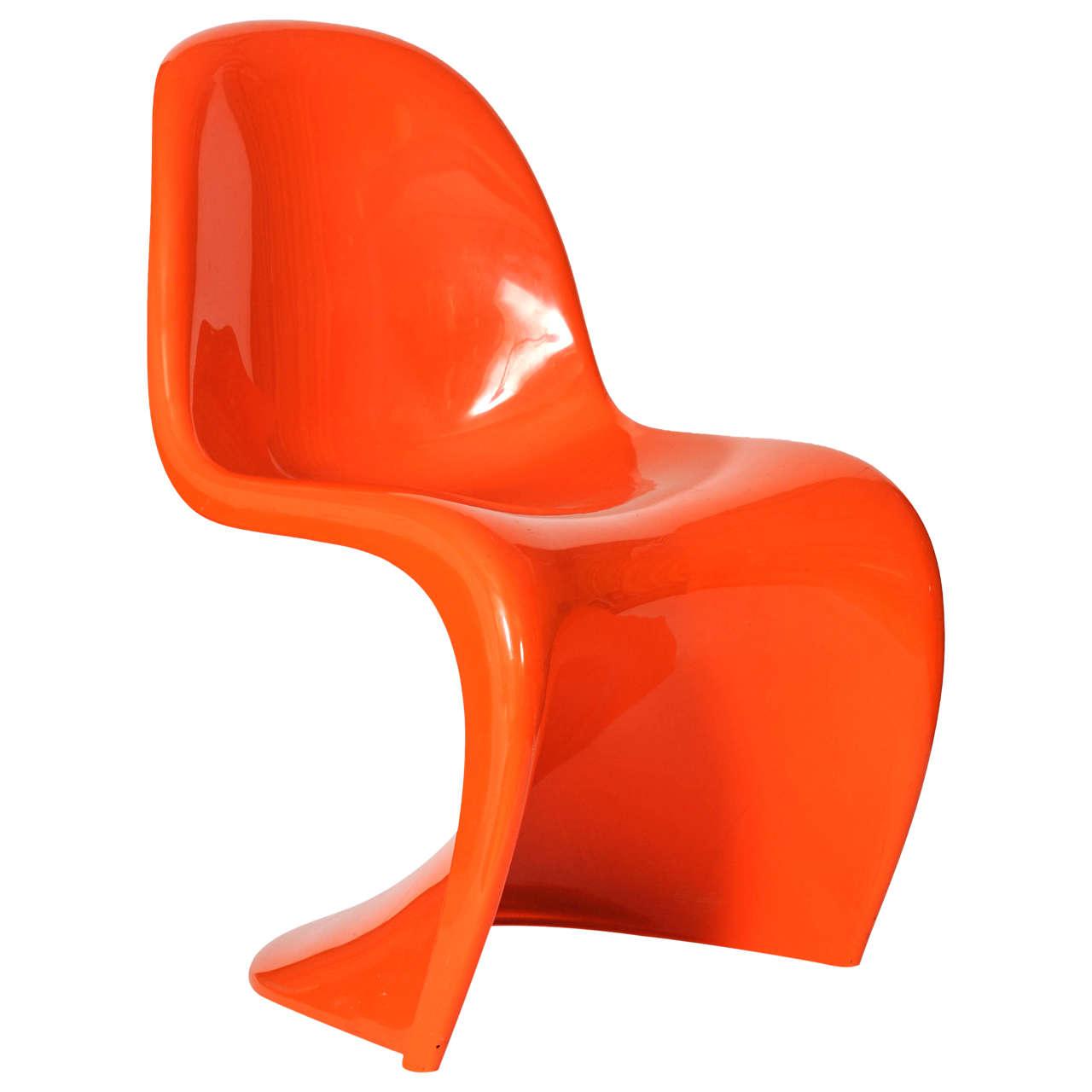 Original Panton Chair set of two original panton s chairs for sale at 1stdibs