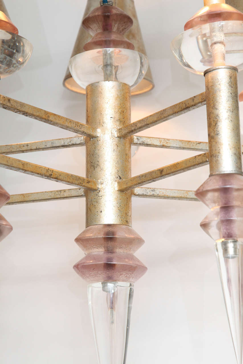 Late 20th Century Chandelier by Hiro Van Teal For Sale