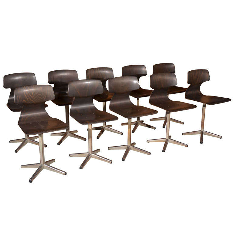 Mid Century Office Side Chairs At 1stdibs