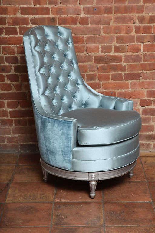Louis Xvi Furniture Antique Swivel Slipper Chair At 1stdibs
