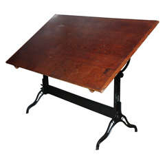 6 ft. Hamilton Architects Adjustable Drafting Table