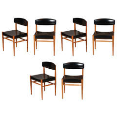Set Of 6 Dutch Dining Chairs