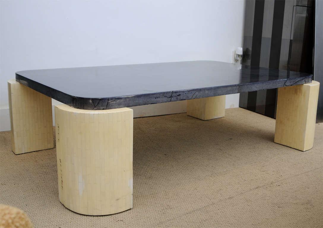 Mid century modern hi end karl springer att bone and goat for Mid century modern furniture hawaii
