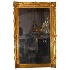 Gilded Wood Mirror