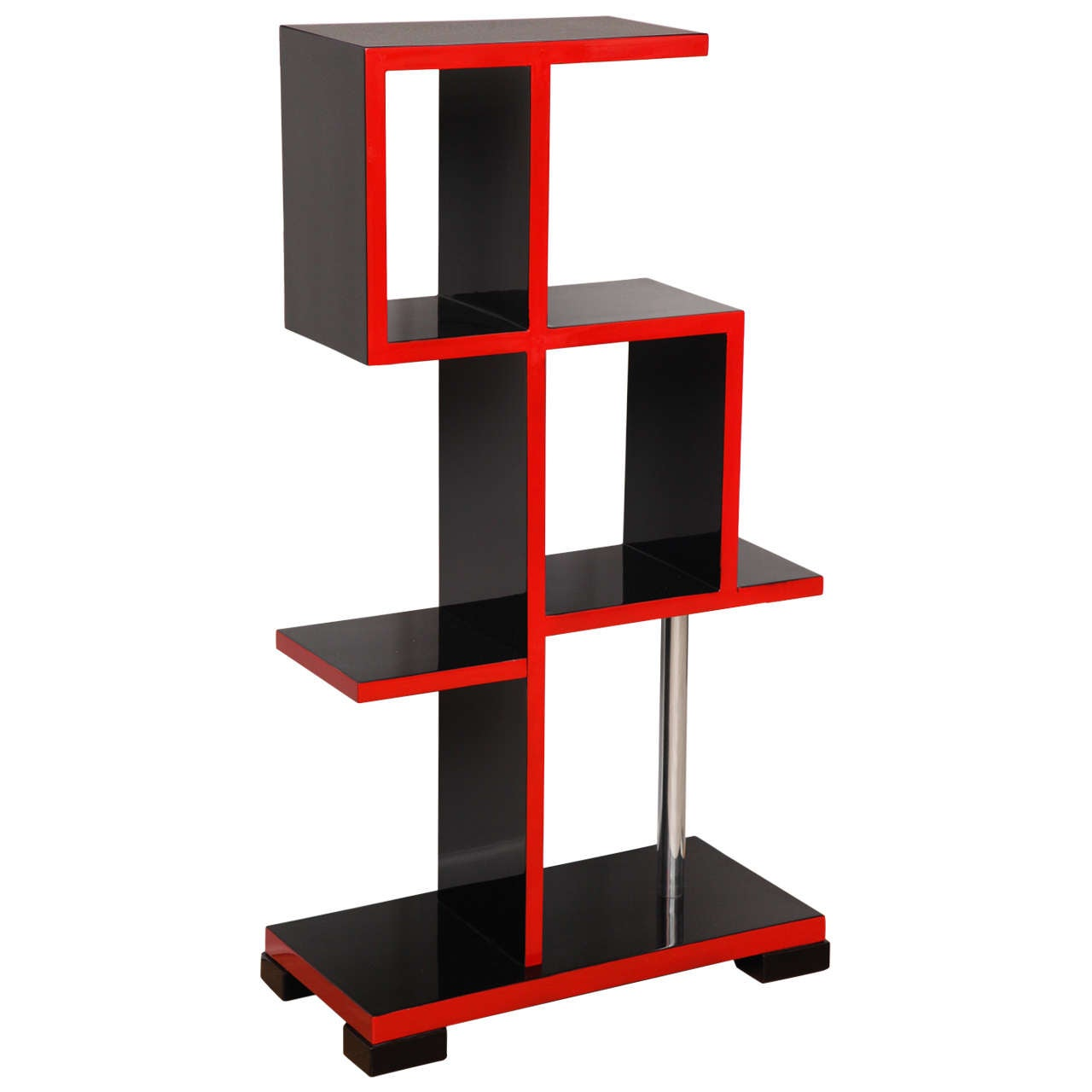 rare bauhaus etagere bookcase at 1stdibs. Black Bedroom Furniture Sets. Home Design Ideas
