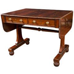 William IV Rosewood Sofa Table