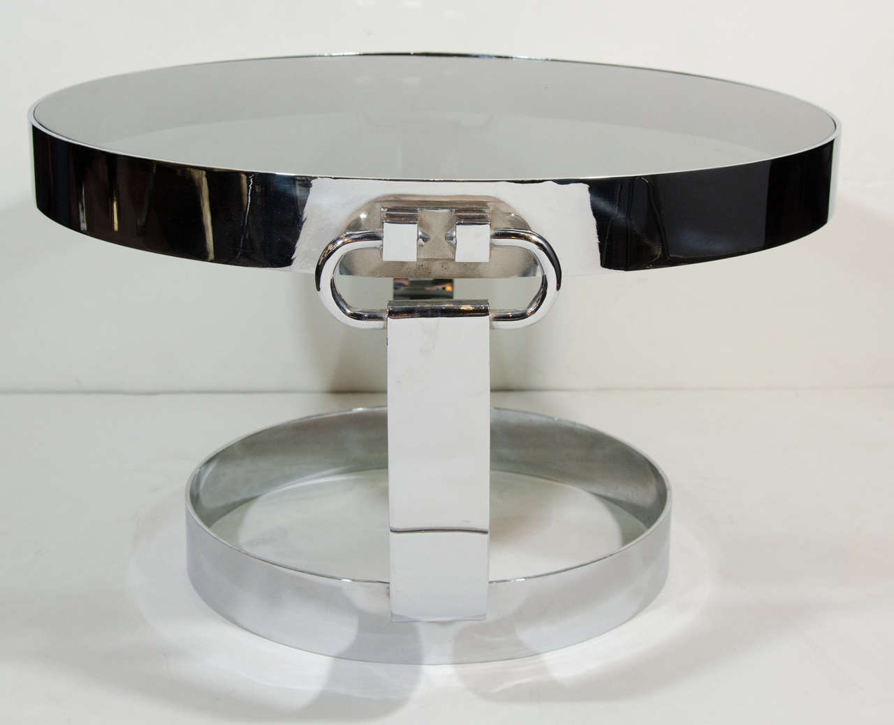 Italian Mid Century Modern Gucci Style Cocktail Table Or Side Table For Sale