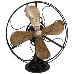 1930s Machine Age Era Table Fan