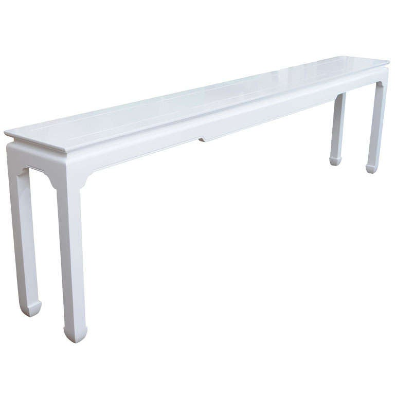 8 ft lacquered console at 1stdibs for 5 foot console table