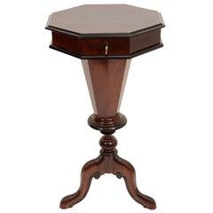 Octagonal Biedermeier Sewing Table
