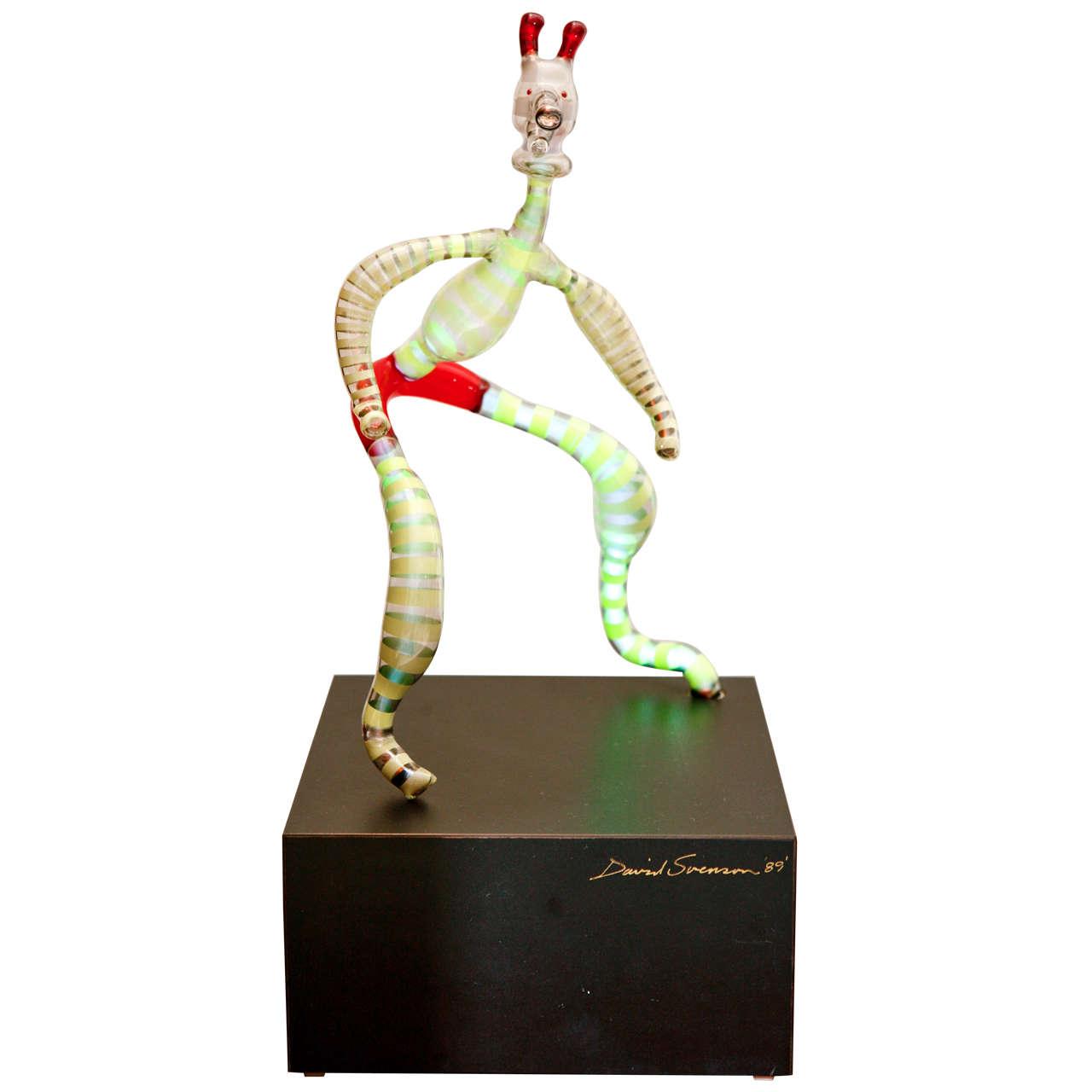Neon Sculpture by David Svenson For Sale