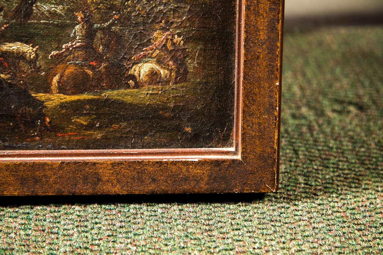 Baroque Francesco Graziani, Italian Oil on Canvas