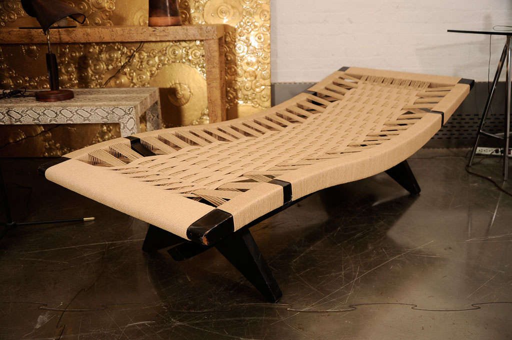 Lounge by henry klumb at 1stdibs for Chaise henri 4