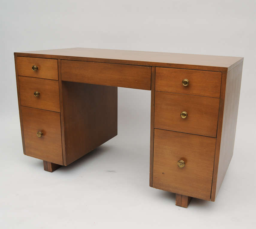 American TH  Robsjohn-Gibbings Desk For Sale