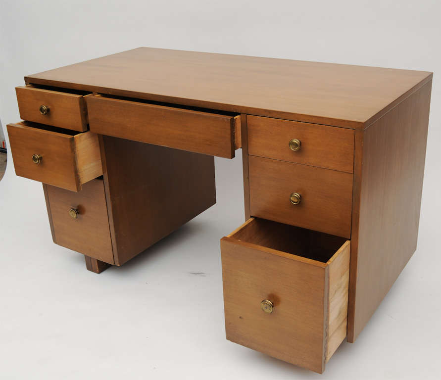 Mid-20th Century TH  Robsjohn-Gibbings Desk For Sale