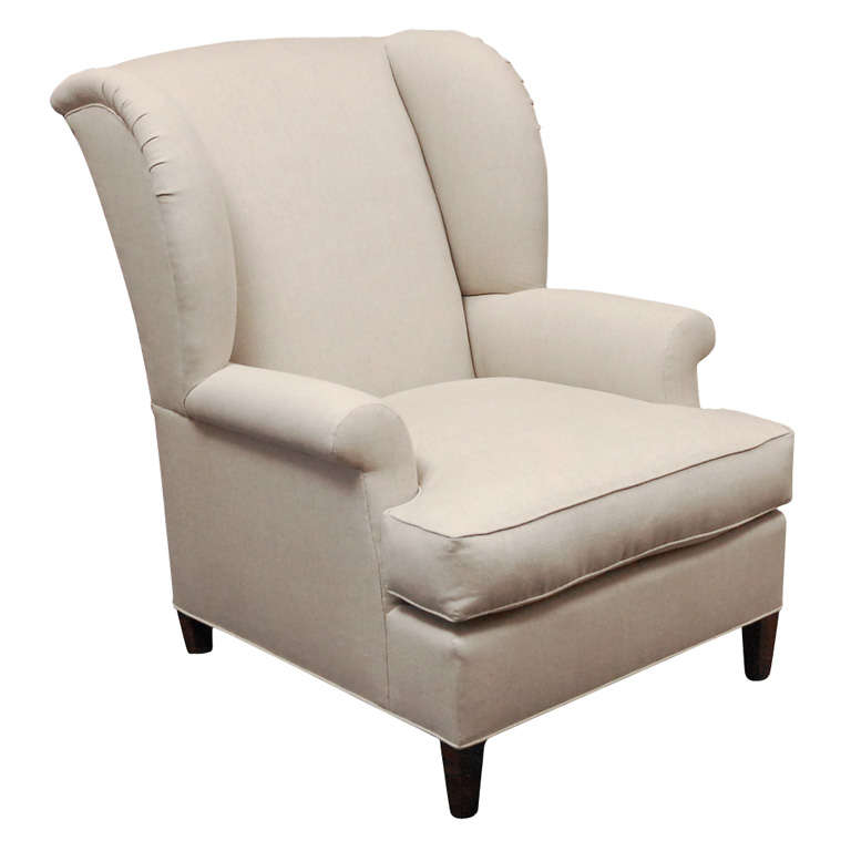 English Wing Chair by Lee Stanton - Worrell
