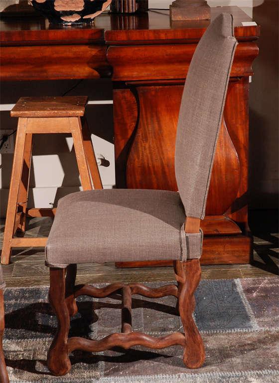 Set of Six Belgian Dining Chairs, circa 1900 2