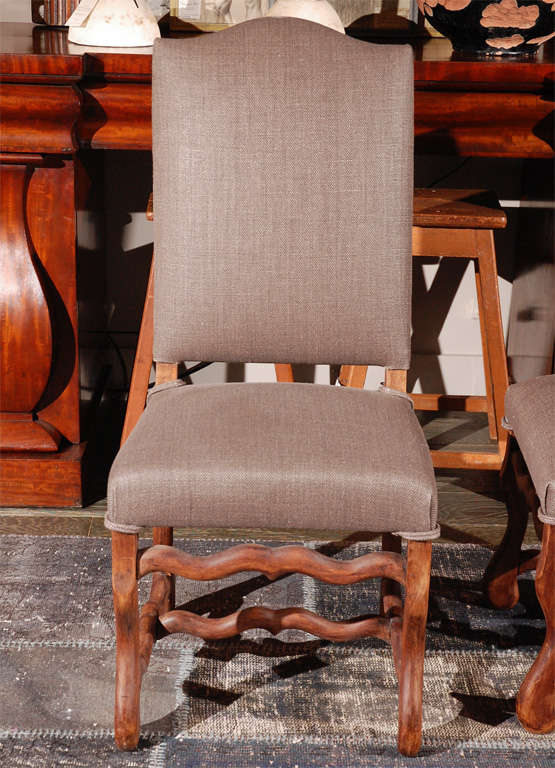 Set of Six Belgian Dining Chairs, circa 1900 5